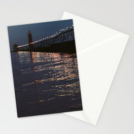 Pier Nights Stationery Cards