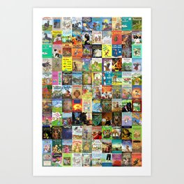Children's Books Art Print