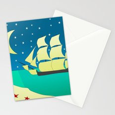 Spanish Galleon Stationery Cards
