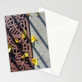 Grate and Ginko Leaves Stationery Cards
