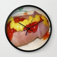 cunt Wall Clocks featuring funny painting ass BDSM fetish Big dick cock suck oral sex pussy cunt transgender anal anal fuck  by Velveteen Rodent