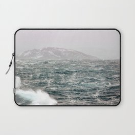 The Ocean in Winter Laptop Sleeve