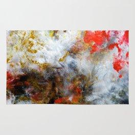 Fireside - Original Abstract Art by Vinn Wong Rug