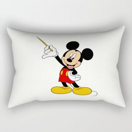 Mickey Mouse with the magic wand Rectangular Pillow