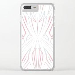 Pinstripe Pattern Creation XXIV Clear iPhone Case