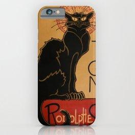 Le Chat Noir - Théophile Steinlen iPhone Case