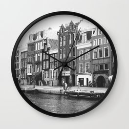 Love, Amsterdam Wall Clock