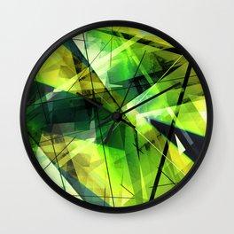 Vitalize - Geometric Abstract Art Wall Clock