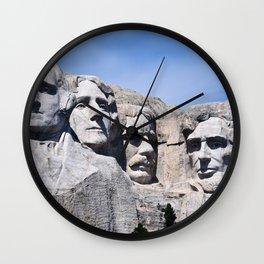 Mt Rushmore Wall Clock