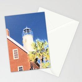 Lighthouse on St. George Island Stationery Cards
