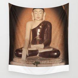 Buddha in Bagan Wall Tapestry