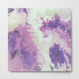 Pink&Purple Metal Print