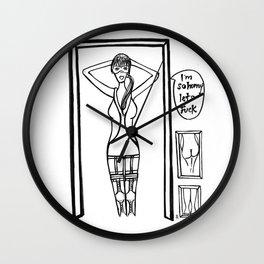 Riendo Salads- Uncovered, Discover p.1 Wall Clock