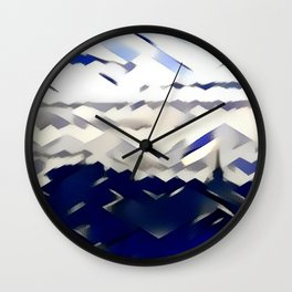 Saltire Pride Wall Clock