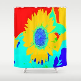 Fun Sunflower #decor #society6 Shower Curtain