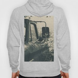 Abandoned Vintage Pick-Up Truck Hoody