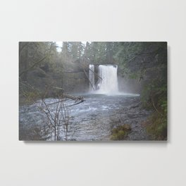 Diffused Waterfall Metal Print