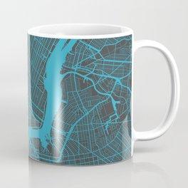New York - Blue Coffee Mug