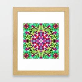 Fantasy Flower 011 Framed Art Print