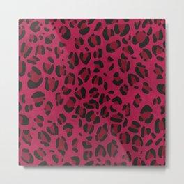 Scene Kid Leopard Print (PINK) Metal Print