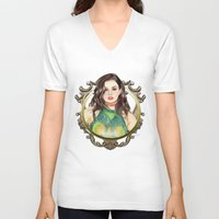 charli xcx V-neck T-shirts featuring Charli XCX by Share_Shop