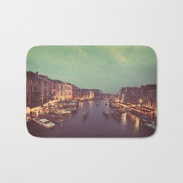 Pretty Lights in Venice  Bath Mat