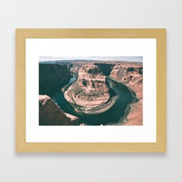 Horseshoe Bend Framed Art Print