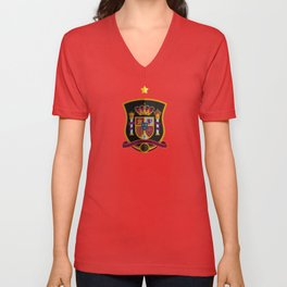 WORLDCUP IS COMING! - The former champ Unisex V-Neck