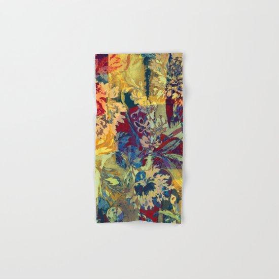 hide and seek floral 2 Hand & Bath Towel