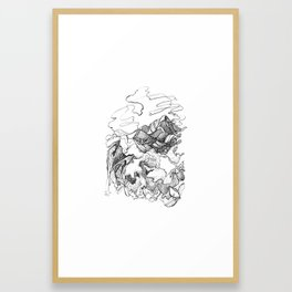 Jungle Boogie :: Sayulita, Mexico Framed Art Print