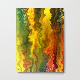 Colorful Thoughts by rafi talby Metal Print