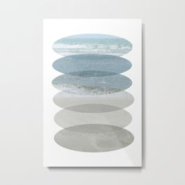 Beach Fragments Metal Print