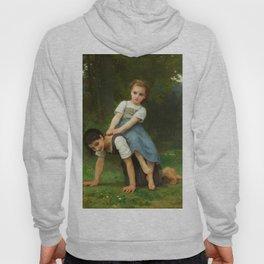 "William-Adolphe Bouguereau ""The Horseback Ride (La Bourrique)"" Hoody"
