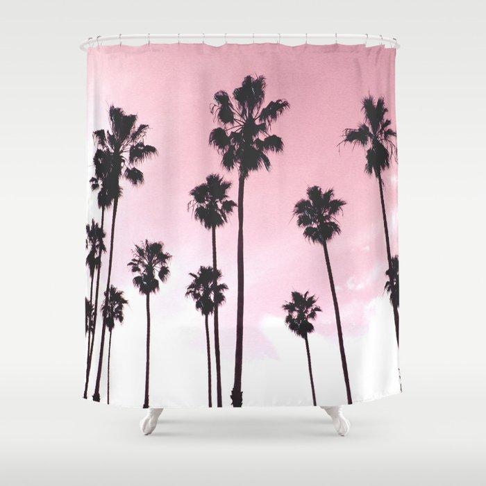 Palms & Sunset Shower Curtain