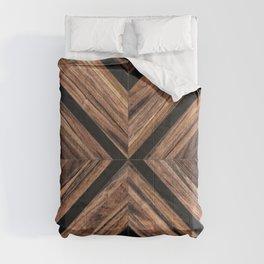 Urban Tribal Pattern No.3 - Wood Comforters