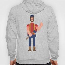 Encouraging Lumberjack Hoody