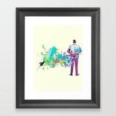 Le romantique Framed Art Print