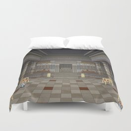 Ancient Egyptian Hall Duvet Cover
