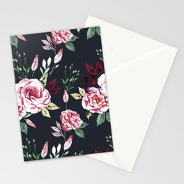 Lisianthus Pattern Stationery Cards