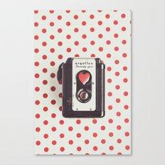 Love Photography Canvas Print