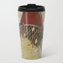 koi Shark Fin 03 Travel Mug