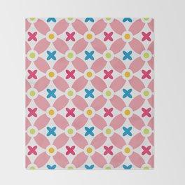 Holand Flower Garden Pattern Throw Blanket