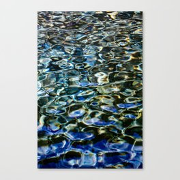 Cool Prismatic Waves on the Yuba Canvas Print