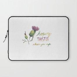 thistle be good Laptop Sleeve
