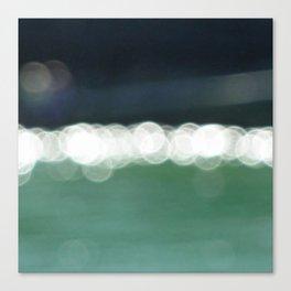 Sea Bokeh Canvas Print