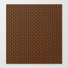 Wire Dome in Copper Canvas Print