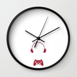 Do you even game bro Wall Clock