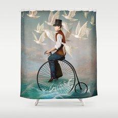 Ocean Ride Shower Curtain