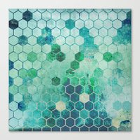 chemistry Canvas Prints featuring Chemistry by Esco