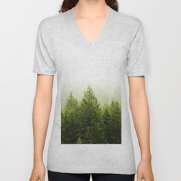 ForestScape Unisex V-Neck